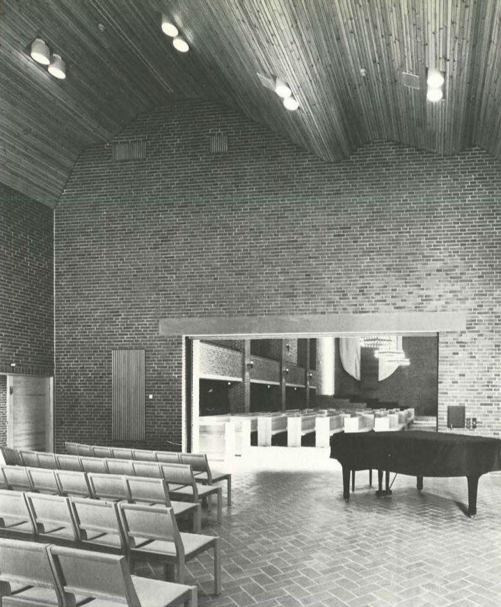Music room, Malmi Church