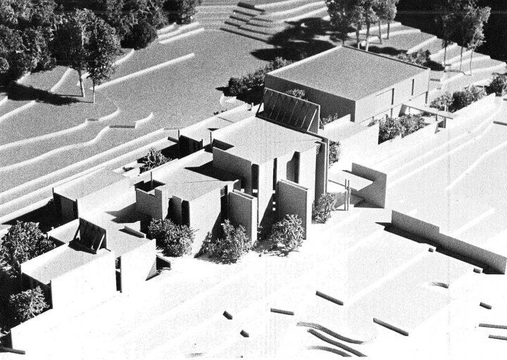 Scale model, Kirkkonummi Parish Centre