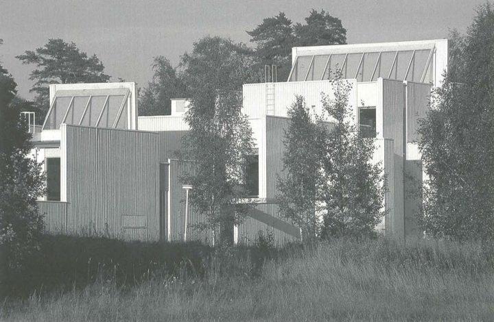 View of the west gable, Kirkkonummi Parish Centre