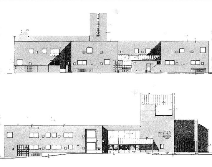 Northeast and southeast elevations, St. Matthew's Church