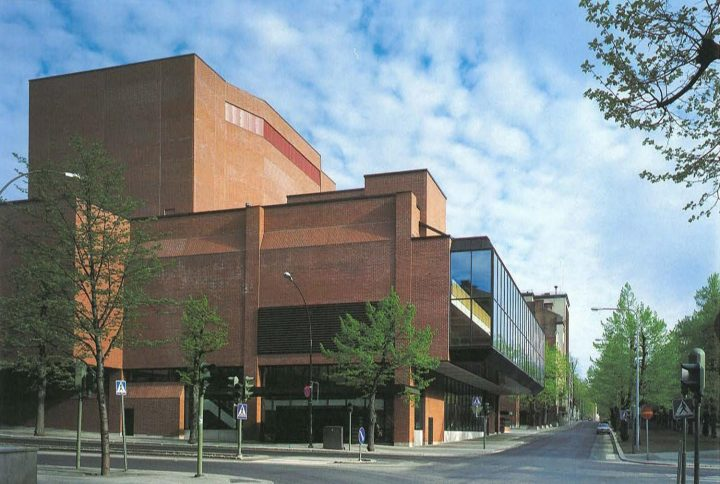 Main elevation, Tampere Worker's Theatre