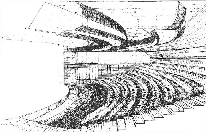 Stage, perspective, Tampere Worker's Theatre