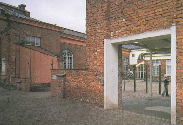 Yard side , Katajanokka School and Luotsi Daycare Centre