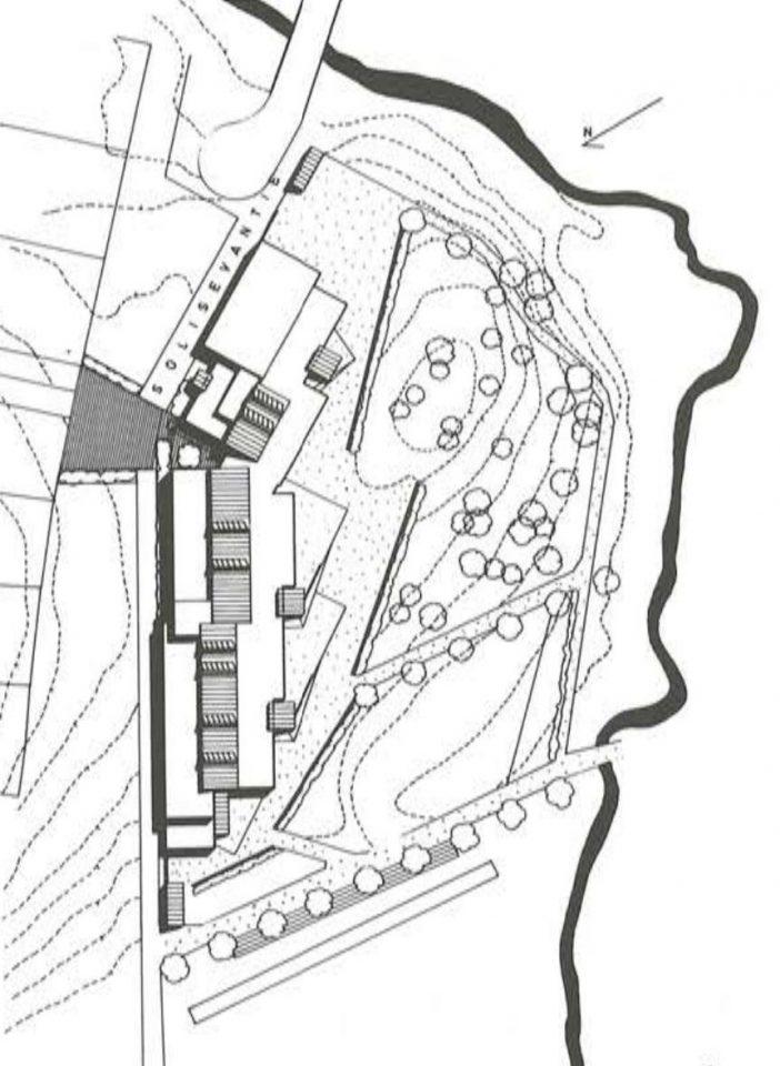 Site plan, Suna School