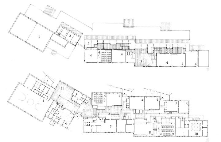 Floorplans, Suna School