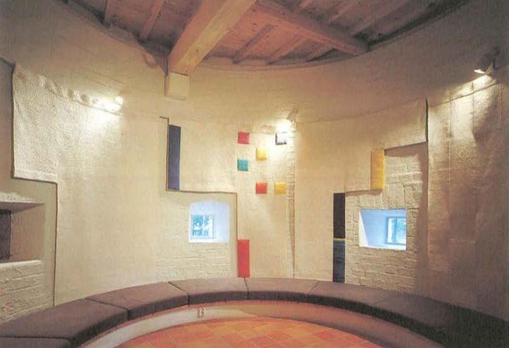 Interior of children's fairy tale tower, Poleeni Cultural Centre