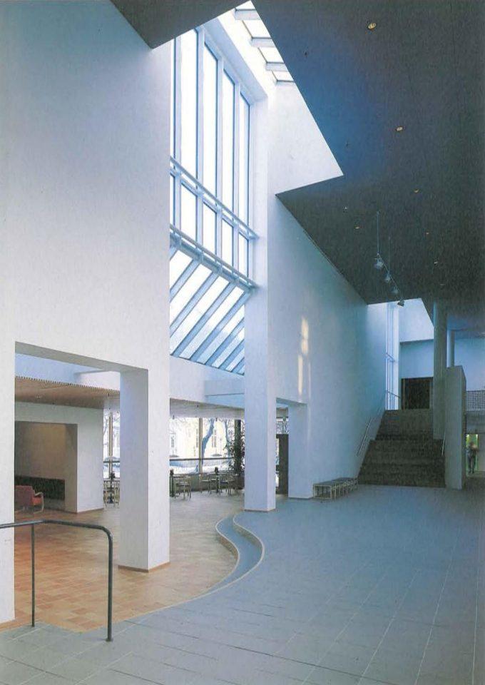 Foyer, Poleeni Cultural Centre
