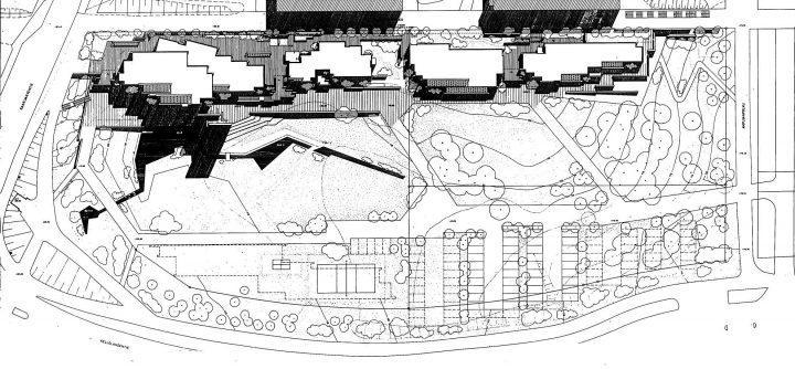 Site plan, St. John's Church