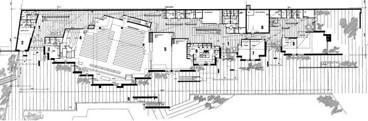 Ground floor's floor plan, St. John's Church