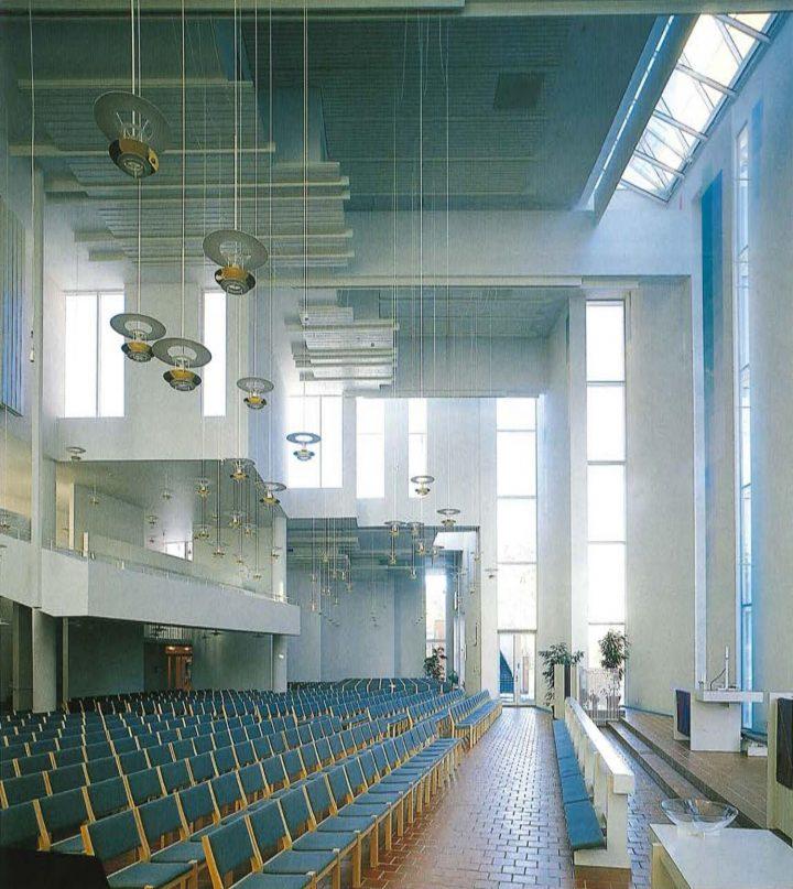 Assembly hall, St. John's Church
