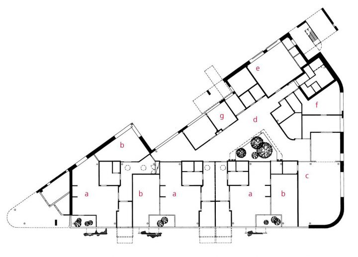 Floor plan, Pehtoori Daycare Centre