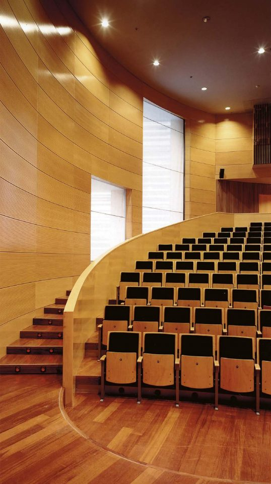 Auditorium, University of Lleida Libarary and Cultural Centre