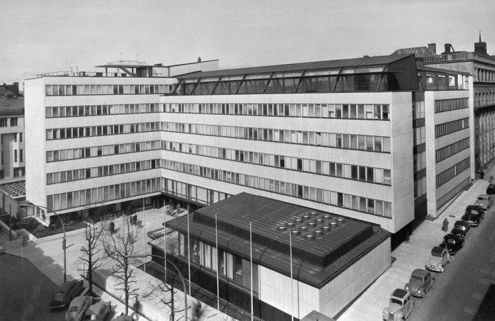 Photo from the 1950s, Helsinki University Porthania Building