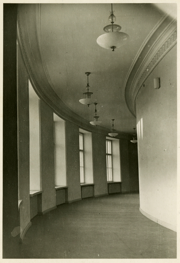 First floor corridor in the 1950s, Estonia Theatre