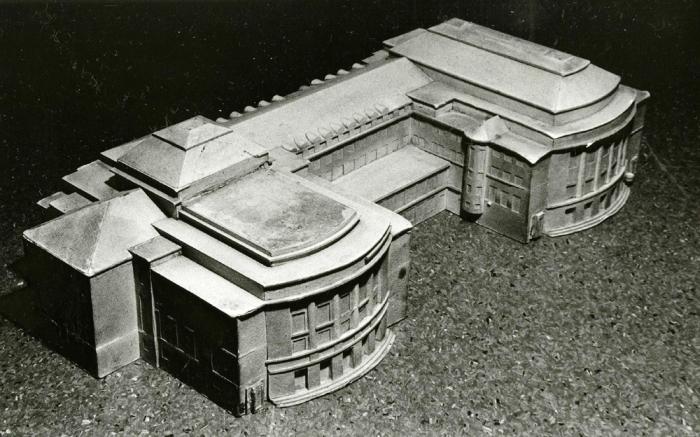 Scale model, Estonia Theatre
