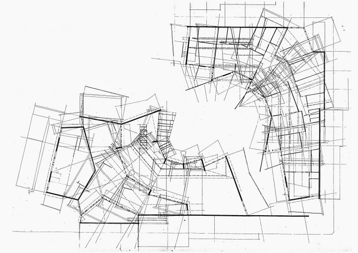 Plan projection, Vallila Library and Daycare Centre