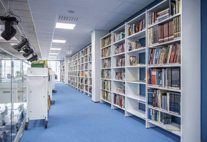 The school library, Rantakylä Normal School