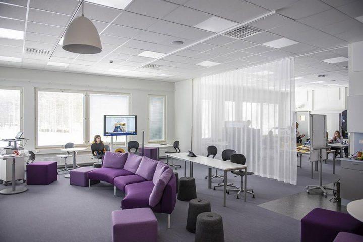 The teaching space, Rantakylä Normal School
