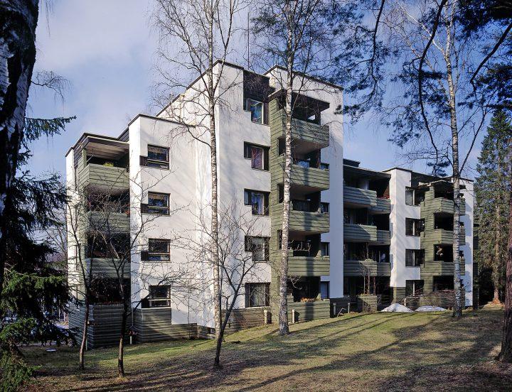 Suvikeskus, Suvikumpu Apartment Block